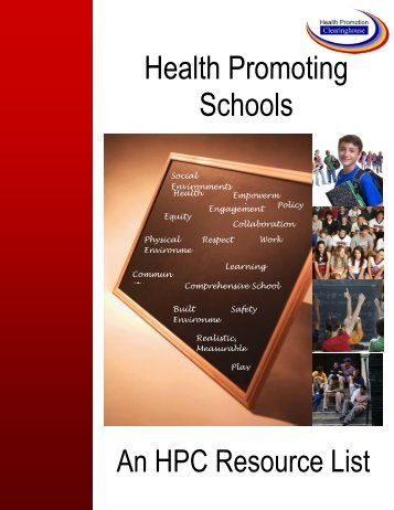 Health Promoting Schools - Health Promotion Clearinghouse