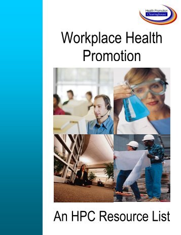 Workplace Health Promotion Resource List