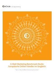 E-Mail-Marketing Benchmark-Studie ... - CRM-Finder Schweiz