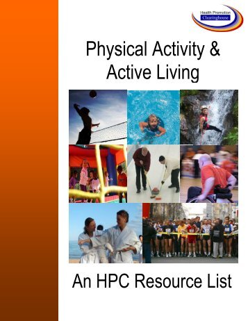 Physical Activity & Active Living - Health Promotion Clearinghouse