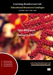 New Releases - Janaury 2009 - Learningemall.com