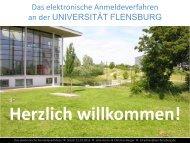 Präsentation zu den technischen Verfahren (PDF) - Universität ...