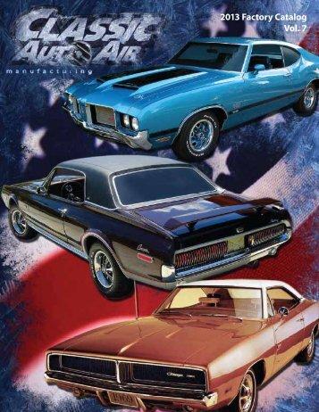 2013 Factory Catalog Vol. 7 - Classic Auto Air
