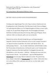 Referat Ludwig Hasler