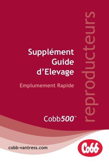 Supplément Guide d'Elevage Emplumement Rapide - Cobb-Vantress