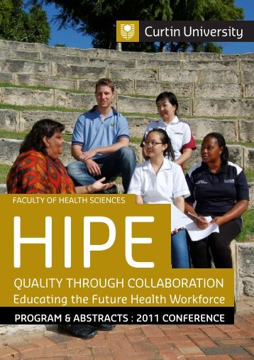 2011 HIPE - Health Sciences - Curtin University
