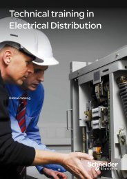 Technical training in Electrical Distribution (pdf ... - Schneider Electric