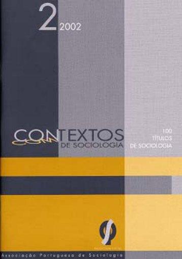 Con(m)textos de Sociologia nº2 - Associação Portuguesa de ...