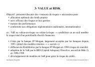 3- VALUE at RISK - Jean-Baptiste Desquilbet