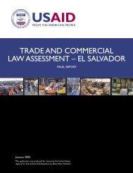 El Salvador - Economic Growth - usaid