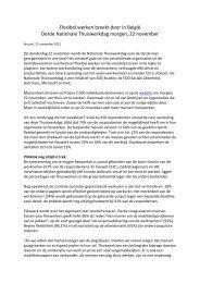 Persmededeling (.pdf) - FOD Sociale Zekerheid