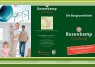 Die Baugrundstücke - in Rosenkamp