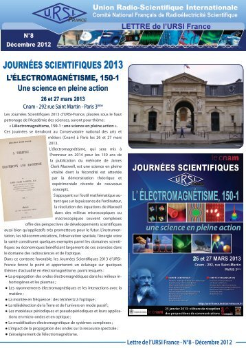 L' ÉLECTROMAGNÉTISME, 150-1 - URSI-France
