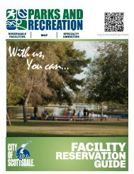 Facility Reservation Guide - City of Scottsdale