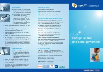 Share Flyer.indd - SHARE - Social Housing Action to Reduce ...