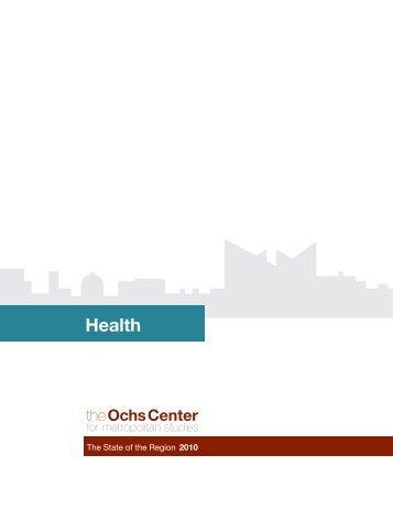 Health report - Ochs Center for Metropolitan Studies