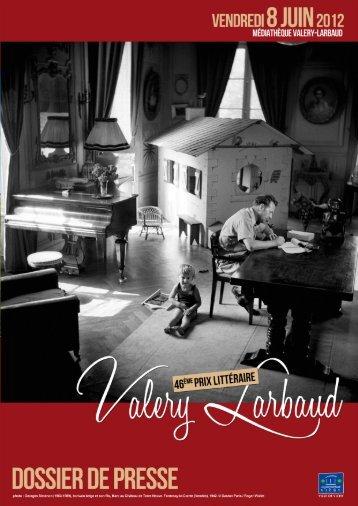 Le Prix Valery Larbaud - Vichy