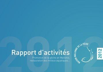 Télécharger le rapport d'activités 2012