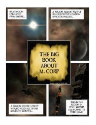 The Big Book About M. Corp - EVE Files