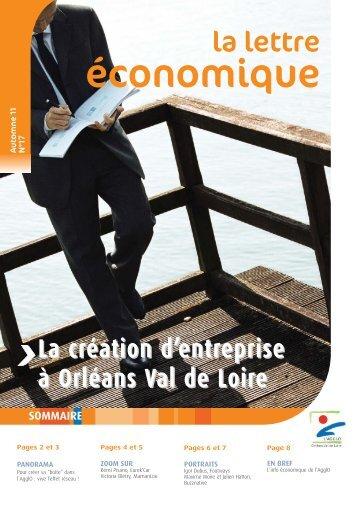 Lettre économique N° 17 - Orléans Val de Loire Business
