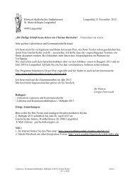 Lektoren und Kommunionhelferplan 2 - katholische Kirchgemeinde ...