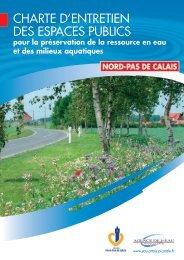 Charte d'entretien des espaces publics - Agence de l'eau Artois ...