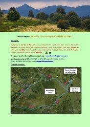 Idée Rando : Boucle1 – En route pour le Mont St-Jean !