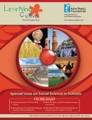 Social Science in Schools - Azim Premji Foundation
