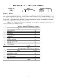 Electrical & Electronics Engineering - SBTE Home Page