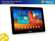 Samsung Galaxy Tab 10.1 Gmail Hesap Kurulumu