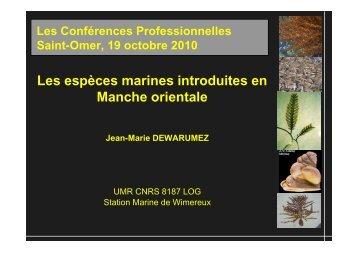 Jean-Marie DEWARUMEZ - Agence de l'eau Artois Picardie
