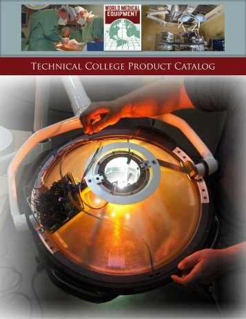 Technical College Product Catalog - World Medical Equipment