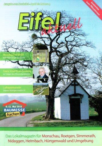 Eifel Aktuell Ausgabe 04.2014