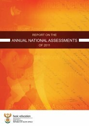 annual national assessments - Department of Basic Education