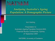 Analysing Australia's Ageing Population: A Demographic Picture