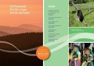 Urlaubsmagazin Oberharz 2014 - Der Oberharz