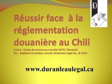 4. Réussir face à la règlementation douanière au Chili