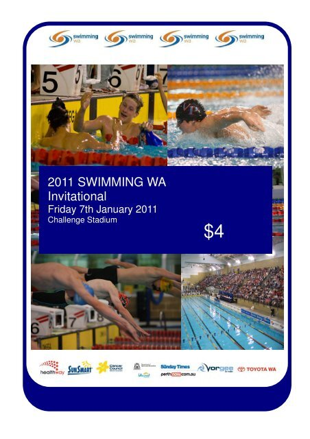 2011 SWA Invitational Program Download - Swimming WA Results