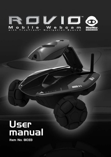 User manual - WowWee