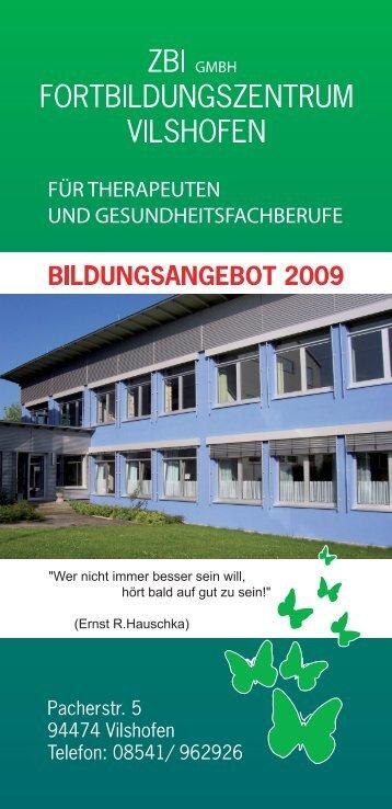Untitled - Private Berufsfachschule für Ergotherapie Vilshofen