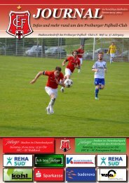 FFC-Journal, Nr. 14, SV Waldkirch