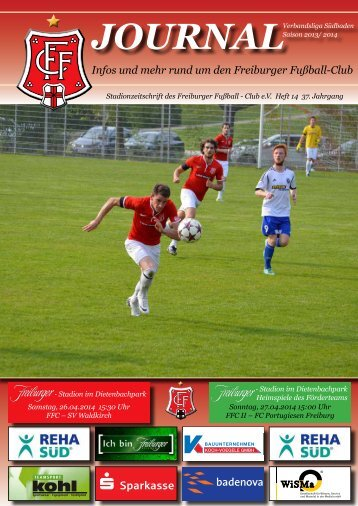 FFC-Journal, Nr. 14, SV Waldkirch