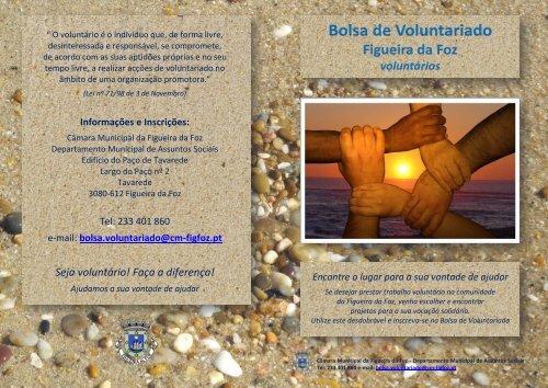 Ficha de inscrição para voluntários