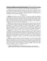 PROYECTO de Modificación a la Norma Oficial Mexicana NOM-009 ...