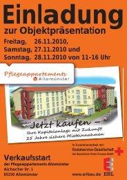 Info: Tel. 0991/3706080 www.erlbau.de ... - ERL-BAU Gmbh & Co. KG