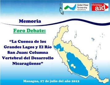 Memoria Foro Cuenca 69 - Global Water Partnership