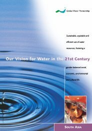 South Asia - Global Water Partnership