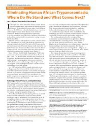 Where Do We Stand and What Comes Next? - Striepen.uga.edu