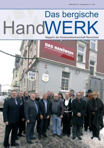 """Sonderteil """"Das Bergische Handwerk"""" - remscheid24"""