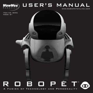 R O B O P E T™ - RobotsAndComputers.com